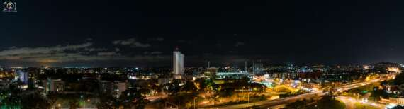 South Brisbane Night Skyline