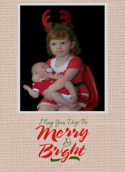 Merry Christmas Miles and Mackenzie