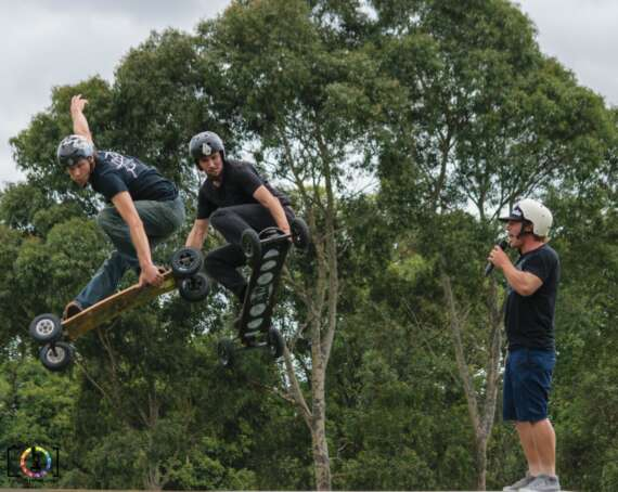 Australian Mountain Boarders @ The Berwick Show