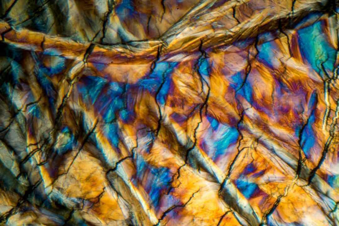 Stearic Acid by Polarized Light Microscopy