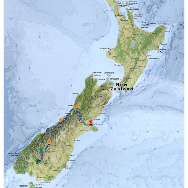 New Zealand – South Island