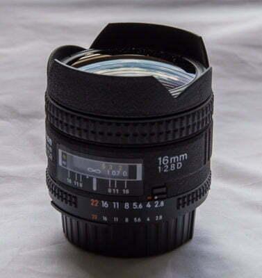 Nikon 16mm f/2.8 AF Fisheye - Review